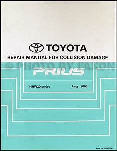 2005 Toyota Prius Wiring Diagram Manual Original