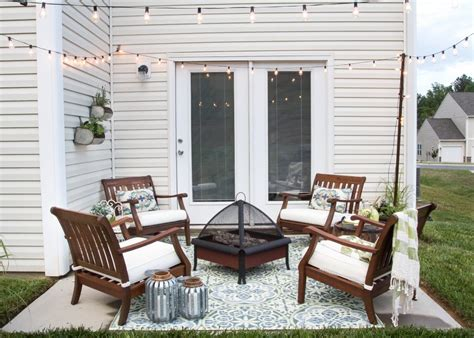 decorating a patio how to decorate a small patio bless er house