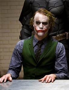 Heath Ledger as The Joker - The Hollywood Gossip