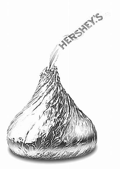 Hershey Kiss Clipart Hersheys Milton Kisses Clip