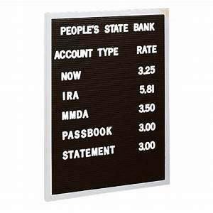 Open face changeable black letter board 239 x 339 size 24 for Where to buy letter board
