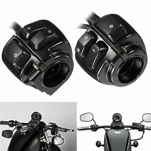 1 Pair Motorcycle 1 U0026quot  25mm Handlebar Control Switch For