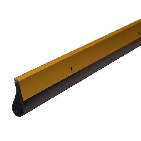 xcluder door sweep xcluder residential 36 in gold pest door sweep