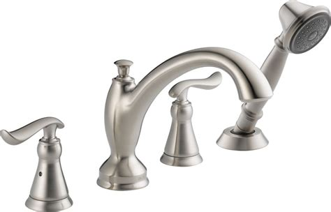 faucet com t4794 ss in brilliance stainless by delta