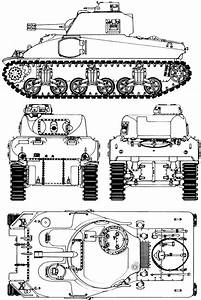 M4 Sherman Blueprint
