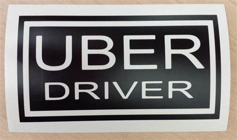 Customized/personalized Decal Uber Sign Rideshare, Sticker