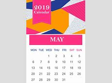 May 2019 Printable Calendar Templates {PDF, Excel, Word