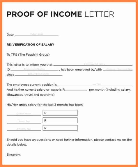 sample salary confirmation letter  employer