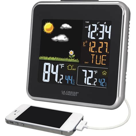 wireless color weather station lacrosse wireless weather station color forecast