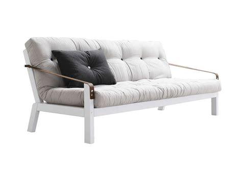 canapé futon pas cher canapé convertible futon beige canapé achatdesign