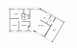 plan maison 120m2 plain pied pin plan maison plein pied 1 With plan de maison 120m2 2 gallery of hot plan maison plein pied modles et plans de