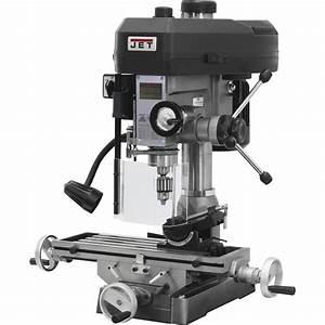 Jet Milling  Drilling Machine  U2014 15in   1 Hp  115  230v
