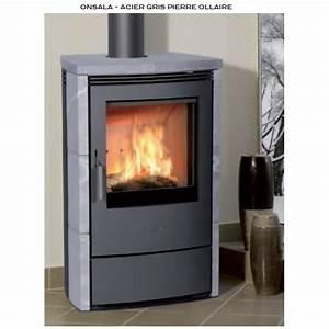 Poele Pierre Ollaire : po le bois sylvatika onsala acier gris pierre ollaire 8 kw ~ Premium-room.com Idées de Décoration