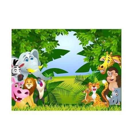 stickers muraux animaux de la jungle stickers enfant g 233 ant animaux de la jungle d 233 co stickers