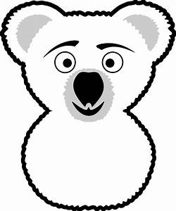 Koala Black And White Clipart - ClipArt Best