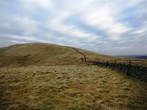East Cairn Hill Pentlands - Cloudy Skies and Rain