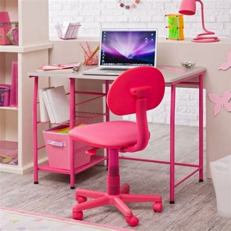 girls white desk chair girls office chair purple and white floral swivel desk