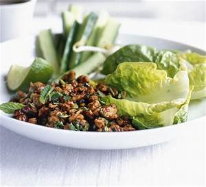 Thai minced chicken salad BBC Good Food