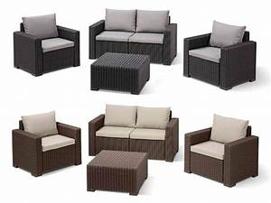Rattan Lounge Set Braun : rattan lounge set ~ Bigdaddyawards.com Haus und Dekorationen