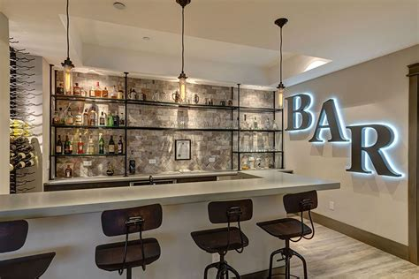 Bar Shelving Ideas by Basement Bar Pinteres