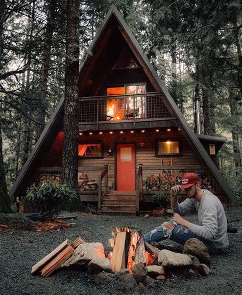 cool  frame cabins  man homemydesign