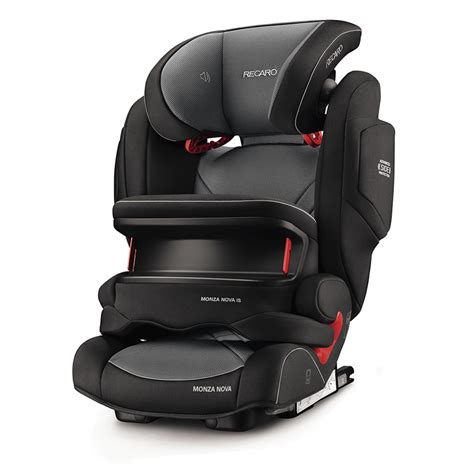 siege auto groupe 1 2 3 recaro siège auto monza is seatfix carbon black groupe 1 2
