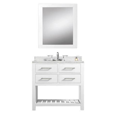 30 inch bathroom sink 30 inch single sink bathroom vanity in pure white