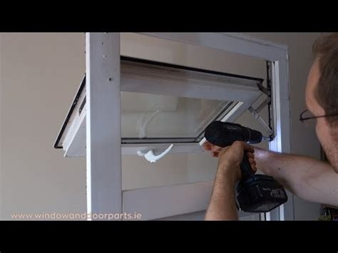 replace  hinges   upvc window youtube