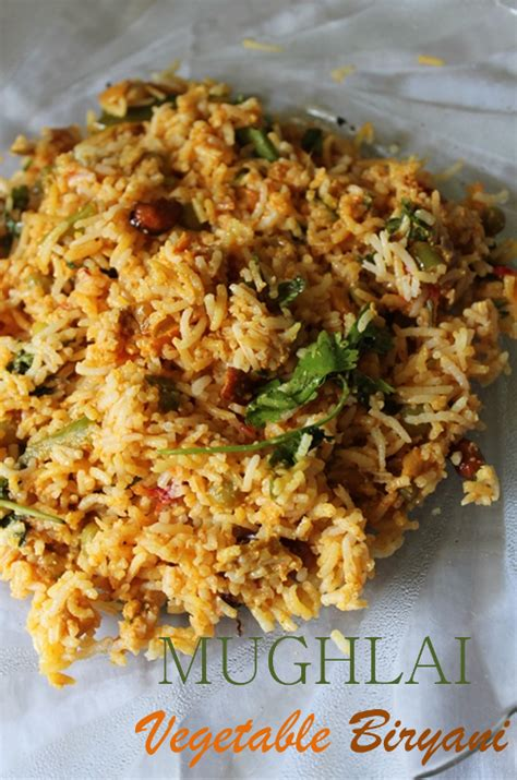 biryani indian cuisine tummy mughlai vegetable biryani recipe mughlai