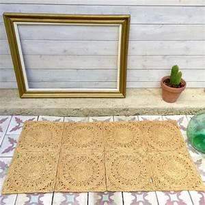 Tapis En Corde : tapis en jute brocanteandco boutique en ligne de brocante ~ Teatrodelosmanantiales.com Idées de Décoration