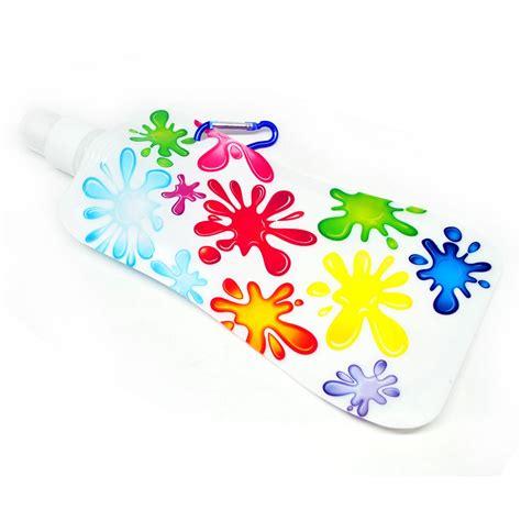 foldable water bottle botol air minum lipat white