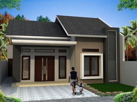gambar desain rumah minimalis  model teras unik