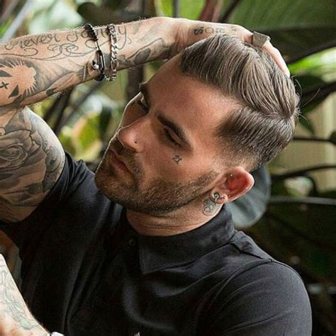 layered haircuts  men short long layered styles