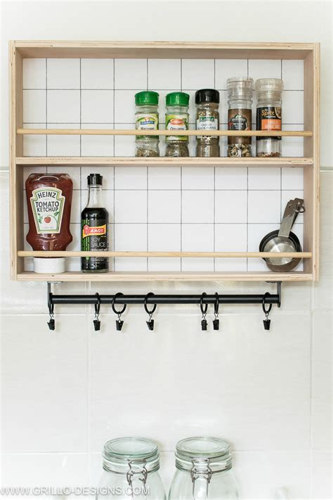 Spice Rack Designs by How To Build A Hanging Spice Rack And A Ryobi Giveaway
