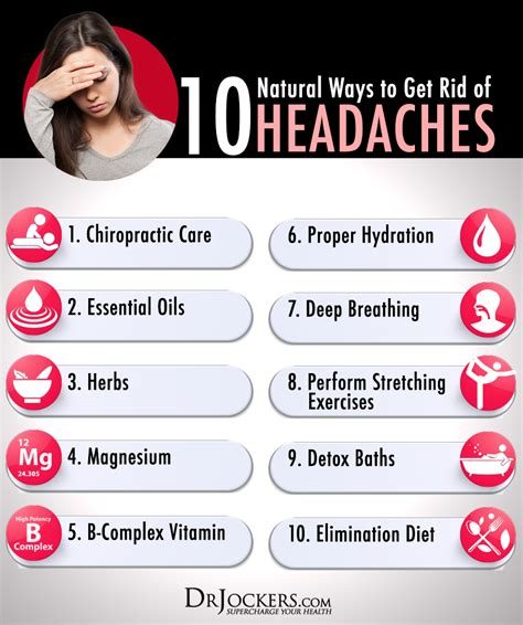10 Natural Ways To Get Rid Of Headaches Drjockerscom