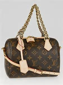 louis vuitton limited edition monogram canvas speedy chain
