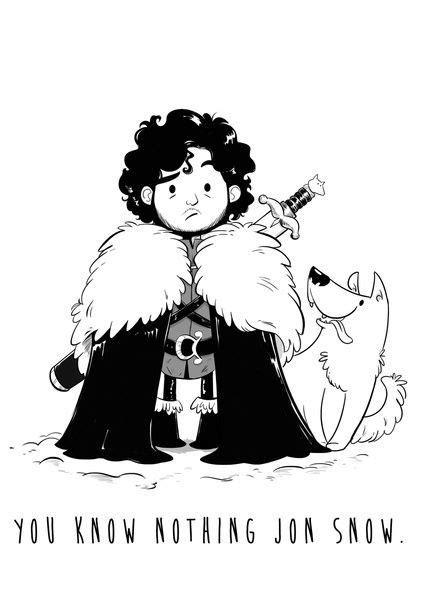 billedresultat  games  thrones cartoon drawing