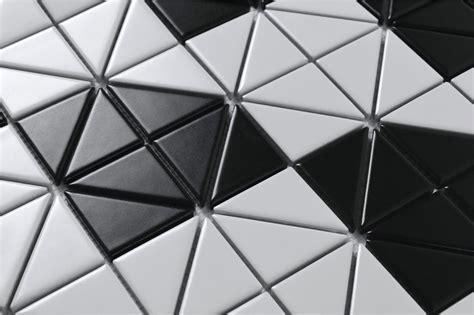 2'' Matte Multi Diamond Pattern Porcelain Triangle Mosaic