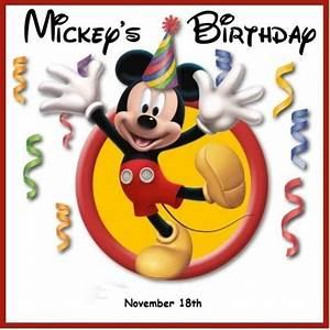 Happy Birthday Mickey Mouse : happy 85th birthday mickey mouse ~ Buech-reservation.com Haus und Dekorationen