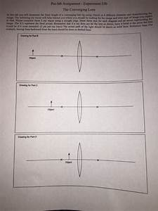 Solved  In This Lab You Will Determine The Focal Length Of
