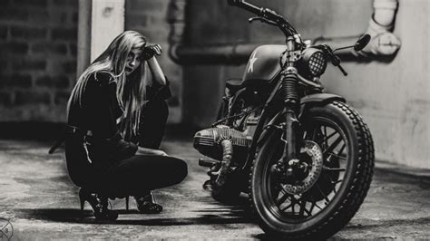 Bmw Motorcycle Girl