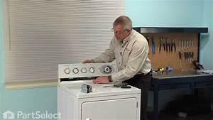 Dryer Repair - Replacing The Timer  Ge Part   We4m189