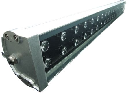 high power glass wall washer led lights 48w ac 220v
