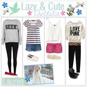 Girl Cute Lazy Outfits with Joggers