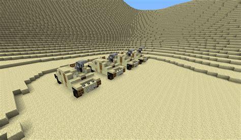 Desert Military Base Reloaded V2 Minecraft Project