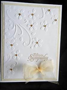The 25 best ideas about Handmade Sympathy Cards on