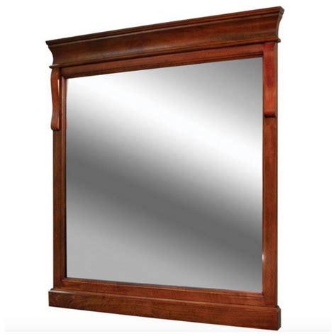 Wooden Framed Decorative Wall Mirror Home Decor Bathroom