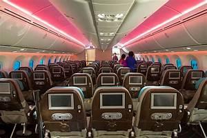 Boeing 787-8 Dreamliner N787BX economy class cabin ...