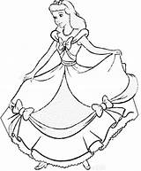 Cinderella Coloring Pages Forget Supplies Don sketch template