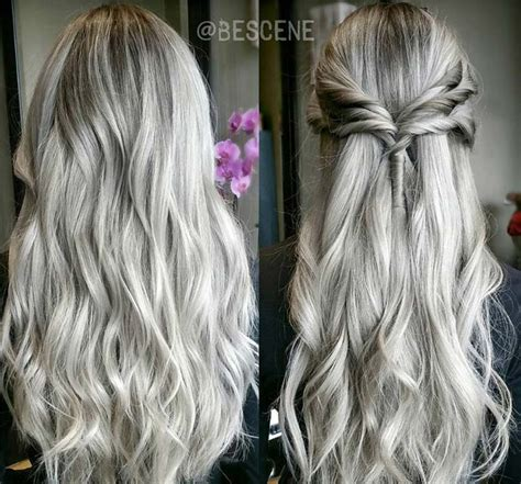 The Best 85 Silver Hair Color Ideas And Tips For Dyeing Pictures 640 x 480